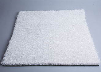 China 20mm White Color Artificial Snow Skiing Synthetic Grass For Outside Ski Simulator supplier