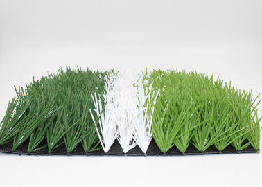 China High Density 50mm Soccer Field Artificial Turf Non - Abrasive UV Resistance supplier