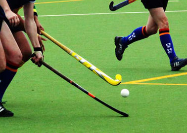 China Waterproof Hockey Artificial Grass Outdoor Synthetic PE PP Material For Sports supplier