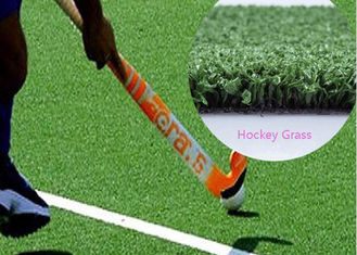 China Hockey Fields Real Looking Artificial Grass PE Fibrillated with Curled Yarn supplier