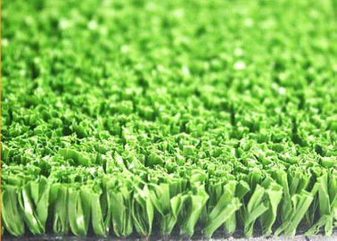 China 13mm Natural Looking Green Artificial Grass For Sports Croquet Sand / Rubber Infill supplier