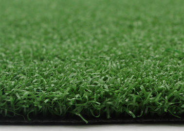PE Curled Yarn Croquet Lawn Flat Surface 15mm Artificial Grass For Gateball