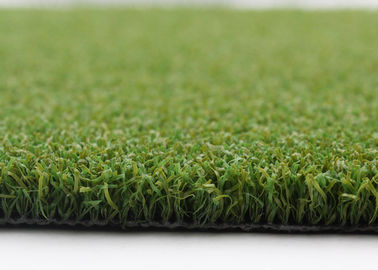 Mini Bicolor Synthetic Golf Artificial Turf , 15 mm High Density Artificial Grass